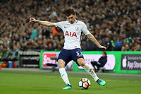 Ben Davies of Tottenham Hotspur during Tottenham Hotspur vs Manchester City, Premier League Football at Wembley Stadium on 14th April 2018