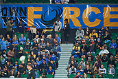 "June 3rd 2017, NIB Stadium, Perth, Australia; Super Rugby; Force v Hurricanes;  ""Own the Force"" Banners at NIB Stadium drumming up support for a public ownership of the club"