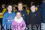 Megan, Sarah, Sandra and Conor O'Donoghue Barradubh at Nathans Walk Darkness into Light walk on Saturday morning