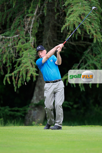 Tony Hayes (Hermitage) on the 8th tee during Round 1 of the Leinster Seniors Amateur Open Championship at Enniscorthy Golf Club on Tuesday 23rd June 2015.<br /> Picture:  Thos Caffrey / www.golffile.ie