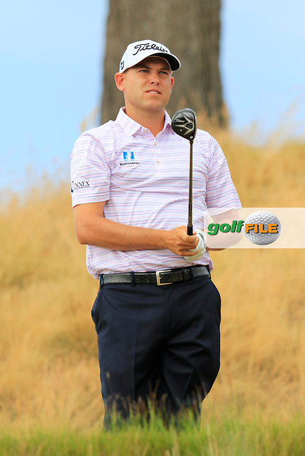 Bill HAAS (USA) tees off the 16th tee during Thursday's Round 1 of the 2015 U.S. Open 115th National Championship held at Chambers Bay, Seattle, Washington, USA. 6/19/2015.<br /> Picture: Golffile | Eoin Clarke<br /> <br /> <br /> <br /> <br /> All photo usage must carry mandatory copyright credit (&copy; Golffile | Eoin Clarke)