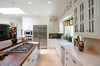 July 23, 2014_San Diego_ California_USA_|   The kitchen at a Fairbanks Ranch estate.  | _Mandatory Photo Credit: Photo by K.C. Alfred/UT San Diego/Copyright 2014 . . . .