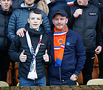 15.12.2019 Motherwell v Rangers: Rangers fans