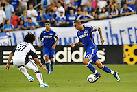 Ryan Smith...Kansas City Wizards defeated New England Revolution 4-1 at Community America Ballpark, Kansas City , Kansas.