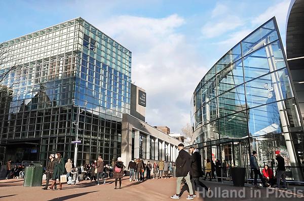 Nederland - Amsterdam -  Februari 2019.  Het van Goghmuseum op  het Museumplein.  Foto Berlinda van Dam / Hollandse Hoogte