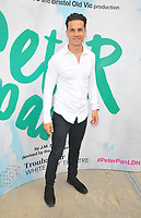 "LONDON, ENGLAND - AUGUST 08: Aaron Sidwell at the ""Peter Pan"" production press performance, Troubadour White City Theatre, Wood Lane, on Saturday 27 July 2019 in London, England, UK.<br /> CAP/CAN<br /> ©CAN/Capital Pictures"