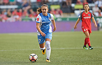 "Portland, OR - Saturday August 19, 2017: Andressa Cavalari Machry ""Andressinha"" during a regular season National Women's Soccer League (NWSL) match between the Portland Thorns FC and the Houston Dash at Providence Park."