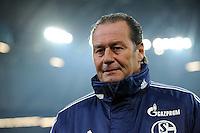 FUSSBALL   1. BUNDESLIGA   SAISON 2011/2012   18. SPIELTAG FC Schalke 04 - VfB Stuttgart            21.01.2012 Trainer Huub Stevens (Schalke 04)