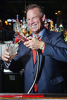 PHILADELPHIA, PA - NOVEMBER 25 : Brian Propp pictured as a guest bartender at Revolutions in Philadelphia, Pa on November 25, 2016  photo credit Star Shooter/MediaPunch
