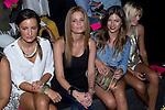 03.09.2012. Celebrities attending the TCN  fashion show during the Mercedes-Benz Fashion Week Madrid Spring/Summer 2013 at Ifema. In the image (L-R) Monica de Tomas, Olivia de Borbon, Ursula Corbero and Cristina Tosio (Alterphotos/Marta Gonzalez)