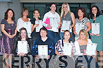 AWARDS NIGHT: The class of Secretarial Students of Tralee Community College (post primary) enjoying their Graduation ceremony at the college on Thursday night. Pictured are Mary M. Murphy, (course coordinator), Norma Lenihan, Bridget O'Shea, Siobhan Fitzgerald, Ashlie Djonal, Caroline Flynn, Elaine O'Shea, Loretta Lawlor, Maire O'Donnell, Niomh O'Shea and Dorine Lacov..   Copyright Kerry's Eye 2008