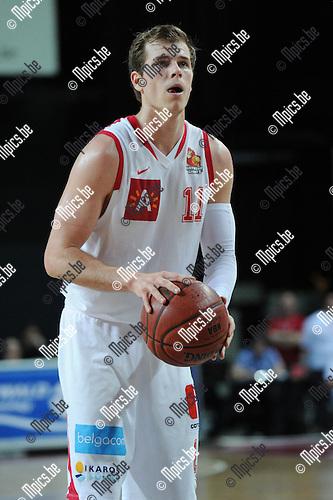 2011-05-19 / Basketbal / seizoen 2010-2011 / Antwerp Giants - BC Oostende / Michael Roll..Foto: Mpics