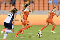 Houston, TX - Saturday July 15, 2017: Caity Heap during a regular season National Women's Soccer League (NWSL) match between the Houston Dash and the Washington Spirit at BBVA Compass Stadium.