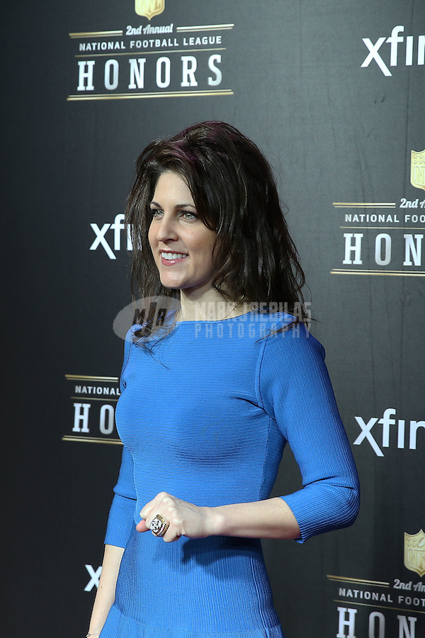 Feb. 2, 2013; New Orleans, LA, USA:  New Orleans Saints vice chairman of the board Rita Benson LeBlanc on the red carpet prior to the Super Bowl XLVII NFL Honors award show at Mahalia Jackson Theater. Mandatory Credit: Mark J. Rebilas-USA TODAY Sports