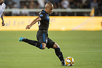 SAN JOSE,  - SEPTEMBER 1: Judson #93 of the San Jose Earthquakes during a game between Orlando City SC and San Jose Earthquakes at Avaya Stadium on September 1, 2019 in San Jose, .