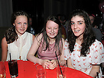 Grace Bohan, Abbie Walsh and Megan Maguire pictured at Trudi Walsh's 18th birthday in the Star and Crescent. Photo: Colin Bell/pressphotos.ie