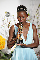Lupita Nyong&rsquo;o at the 86th Annual Academy Awards at the Dolby Theatre, Hollywood.<br /> March 2, 2014  Los Angeles, CA<br /> Picture: Paul Smith / Featureflash