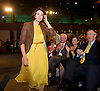 Liberal Democrats<br /> Autumn Conference 2011 <br /> at the ICC, Birmingham, Great Britain <br /> <br /> 17th to 21st September 2011 <br /> <br /> Miriam Gonzalez Durantez<br /> arriving to watch her husband's speech <br /> <br /> Rt Hon Nick Clegg MP<br /> Leader of the Liberal Democrats<br /> Deputy Prime Minister<br /> Speech <br /> <br /> Photograph by Elliott Franks