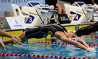 Bobbi Gichard (50m back) in action during the Swimming New Zealand Short Course Championships,Owen G Glenn National Aquatic Centre, Auckland, New Zealand, Saturday October 2017. Photo: Simon Watts/www.bwmedia.co.nz