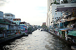 Thailand, Bangkok, Khlongs, Canals, Rivers,