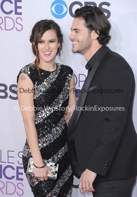 Jayson Blair and Rumer Willis at The 2013 People's Choice Awards held at Nokia Live in Los Angeles, California on January 09,2013                                                                   Copyright 2013 Hollywood Press Agency