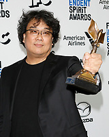 LOS ANGELES - FEB 8:  Bong Joon-Ho at the 2020 Film Independent Spirit Awards at the Beach on February 8, 2020 in Santa Monica, CA
