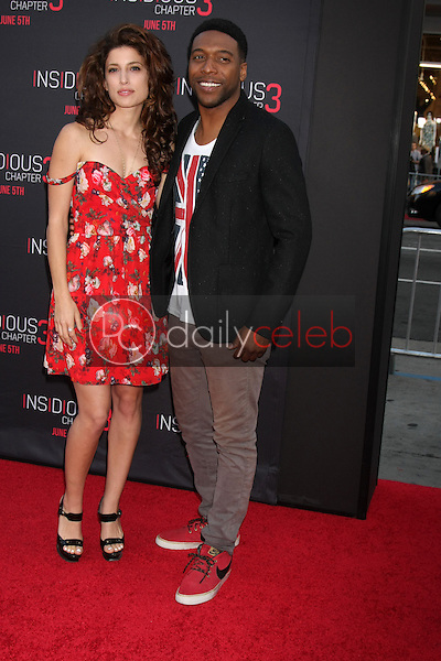 Tania Raymonde, Jocko Sims at the &quot;Insidious Chapter 3&quot; Premiere, TCL Chinese Theater, Hollywood, CA 06-04-15<br /> David Edwards/DailyCeleb.com 818-249-4998