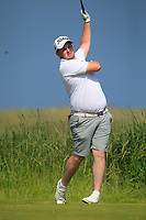 Caolan Rafferty (Dundalk) on the 10th tee during Round 4 of the East of Ireland Amateur Open Championship 2018 at Co. Louth Golf Club, Baltray, Co. Louth on Monday 4th June 2018.<br /> Picture:  Thos Caffrey / Golffile<br /> <br /> All photo usage must carry mandatory copyright credit (&copy; Golffile | Thos Caffrey)