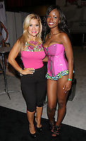 Fabiola Angulo, Jezabel Vessir at Exxxotica, Broward County Convention Center, Fort Lauderdale, FL, Friday May 2, 2014.