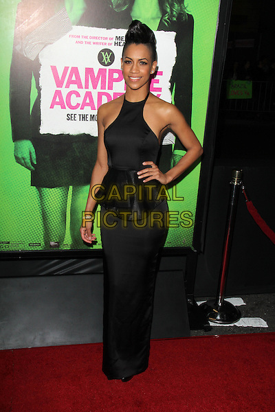 LOS ANGELES, CA - February 04: Dominique Tipper at the &quot;Vampire Academy&quot; Los Angeles Premiere, Regal Cinemas, Los Angeles,  February 04, 2014. <br /> CAP/MPI/JO<br /> &copy;JO/MPI/Capital Pictures