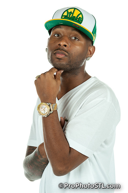 Rapper Smith One promo shots