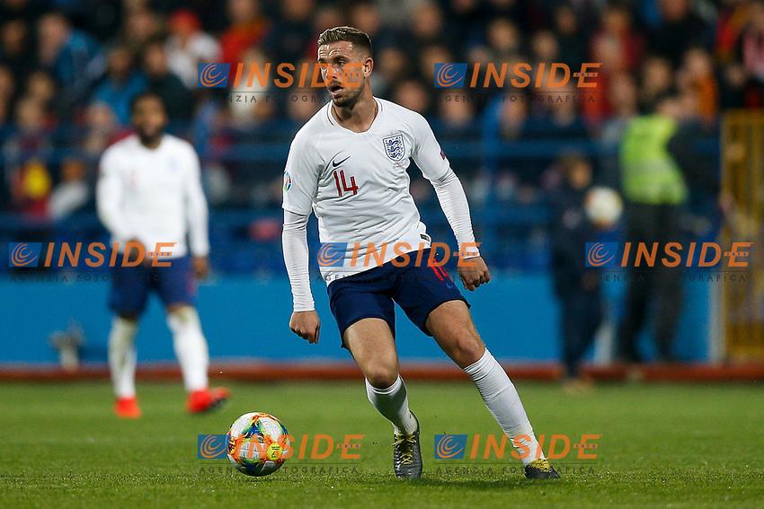 Jordan Henderson of England  <br /> Podgorica 25-3-2019 <br /> Football Euro2020 Qualification Montenegro - England <br /> Foto Daniel Chesterton / PHC / Insidefoto <br /> ITALY ONLY