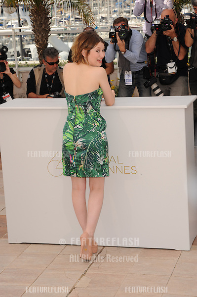 "Emily Browning at photocall for her new movie ""Sleeping Beauty"" in competition at the 64th Festival de Cannes..May 12, 2011  Cannes, France.Picture: Paul Smith / Featureflash"