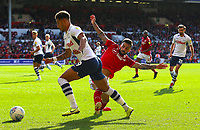 Preston North End's Andre Green gets away from Nottingham Forest's Tiago Silva<br /> <br /> Photographer David Shipman/CameraSport<br /> <br /> The EFL Sky Bet Championship - Nottingham Forest v Preston North End - Saturday 31st August 2019 - The City Ground - Nottingham<br /> <br /> World Copyright © 2019 CameraSport. All rights reserved. 43 Linden Ave. Countesthorpe. Leicester. England. LE8 5PG - Tel: +44 (0) 116 277 4147 - admin@camerasport.com - www.camerasport.com