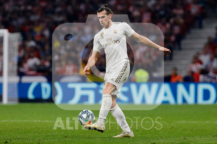 Gareth Bale of Real Madrid during La Liga match between Atletico de Madrid and Real Madrid at Wanda Metropolitano Stadium in Madrid, Spain. September 28, 2019. (ALTERPHOTOS/A. Perez Meca)