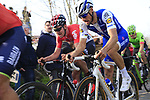 Tom Boonen (BEL) Quick-Step Floors climbs Oude Kwaremont during the 60th edition of the Record Bank E3 Harelbeke 2017, Flanders, Belgium. 24th March 2017.<br /> Picture: Eoin Clarke | Cyclefile<br /> <br /> <br /> All photos usage must carry mandatory copyright credit (&copy; Cyclefile | Eoin Clarke)