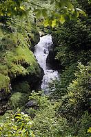 Europe/France/Limousin/19/Corrèze/Gimel: Cascades - Première chute de la grande cascade