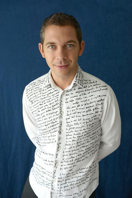 Romain Puertolas, French writer in 2013.