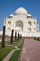 Agra, India.  Taj Mahal.