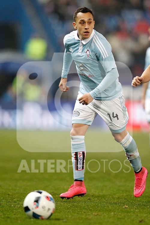 Celta de Vigo's Fabian Orellana during Spanish Kings Cup match. January 27,2016. (ALTERPHOTOS/Acero)