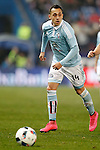Celta de Vigo's Fabian Orellana during Spanish Kings Cup match. January 27,2016. (ALTERPHOTOS/Acero)