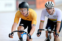 Luke Mudgway of East Coast North Island  competes in the  Elite Men Omnium 1, Scratch race 10km at the Age Group Track National Championships, Avantidrome, Home of Cycling, Cambridge, New Zealand, Saturday, March 18, 2017. Mandatory Credit: © Dianne Manson/CyclingNZ  **NO ARCHIVING**