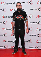 David Meads<br /> Launch party of Cineworld Group's new Korean-developed technology, using projections on the side of theatre walls to create a 270 degree viewing experience, at Cineworld Greenwich, The O2, London, England, UK.<br /> CAP/JOR<br /> &copy;JOR/Capital Pictures