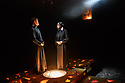 """""""Doubt - a Parable"""", written by John Patrick Shanley and directed by Che Walker, opens at Southwark Playhouse. Picture shows: Jonathan Chambers (Father Brendan Flynn), Stella Gonet (Sister Aloysius)"""