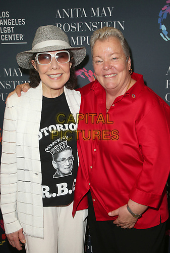 LOS ANGELES, CA -APRIL 7: Lily Tomlin, Lorri Jean, at Grand Opening Of The Los Angeles LGBT Center's Anita May Rosenstein Campus at Anita May Rosenstein Campus in Los Angeles, California on April 7, 2019.<br /> CAP/MPIFS<br /> &copy;MPIFS/Capital Pictures