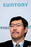 Nobutada Saji, Suntory president and chairman of the board