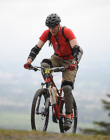 18th May 2014; Steven Daly, Gravity Enduro Mountain Biking Round 2, Ticknock Hill, Co Dublin. Picture credit: Tommy Grealy/actionshots.ie.