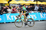 Sylvain Chavanel (FRA) Direct Energie on the Champs-Elysees during Stage 21 of the 104th edition of the Tour de France 2017, an individual time trial running 1.3km from Montgeron to Paris Champs-Elysees, France. 23rd July 2017.<br /> Picture: ASO/Pauline Ballet | Cyclefile<br /> <br /> <br /> All photos usage must carry mandatory copyright credit (&copy; Cyclefile | ASO/Pauline Ballet)