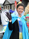 Niamh Leddy at the Drogheda St Patrick's day parade. Photo:Colin Bell/pressphotos.ie