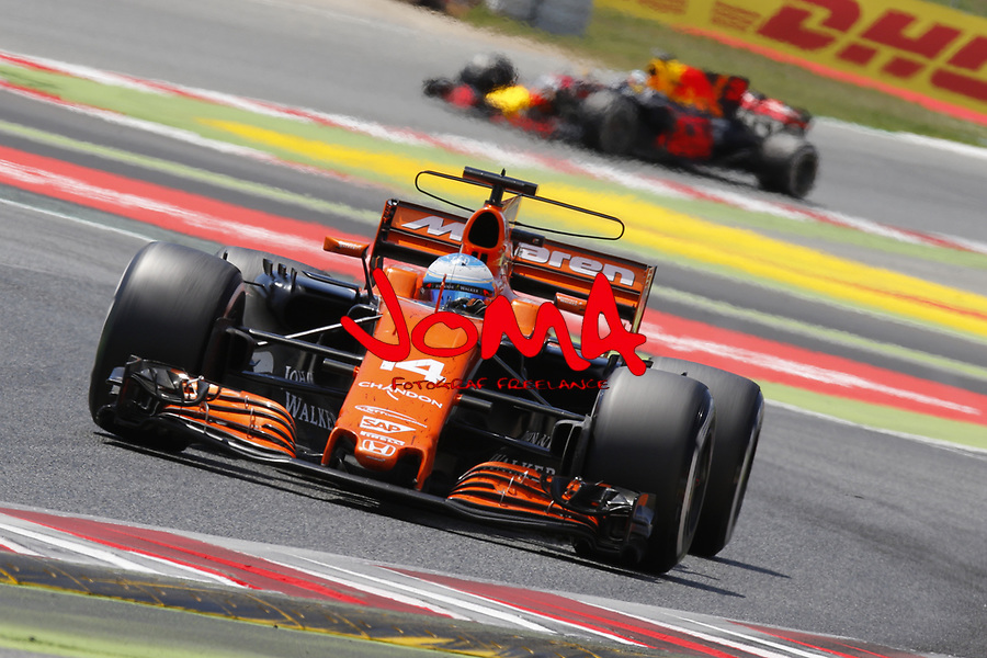 Fernando Alonso (ESP) Mclaren at  Formula 1, Spanish Grand Prix, Barcelona.
